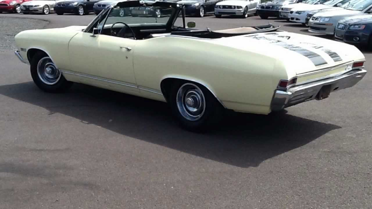 Bucks Auto Sales >> 1968 CHEVY CHEVELLE V8 CONVERTIBLE For Sale In ...