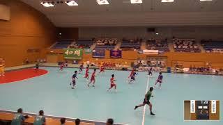 2019年IH ハンドボール 男子 1回戦 佐賀清和(佐賀)VS 山形中央(山形)