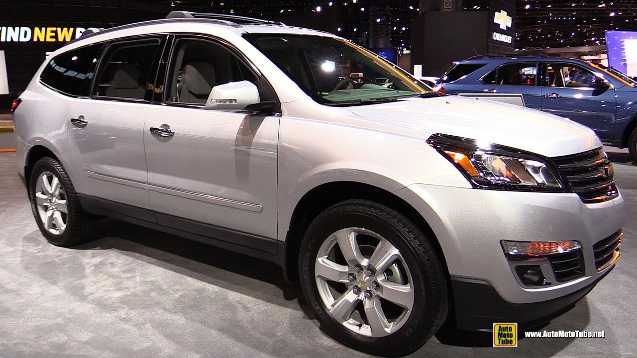 2016 chevrolet traverse ltz awd exterior and interior walkaround 2016 chicago auto show. Black Bedroom Furniture Sets. Home Design Ideas