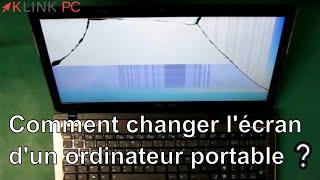 comment réparer écran ordinateur portable