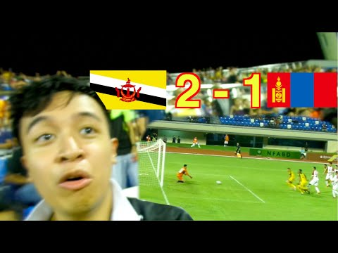 🇧🇳BRUNEI 2 - 1 MONGOLIA🇲🇳! 😲 BEST GAME EVER! (VLOG)