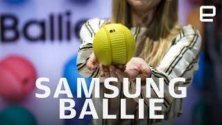 Samsung Ballie first look at CES 2020