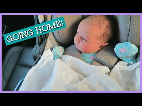 BRINGING BABY HOME FROM THE HOSPITAL!