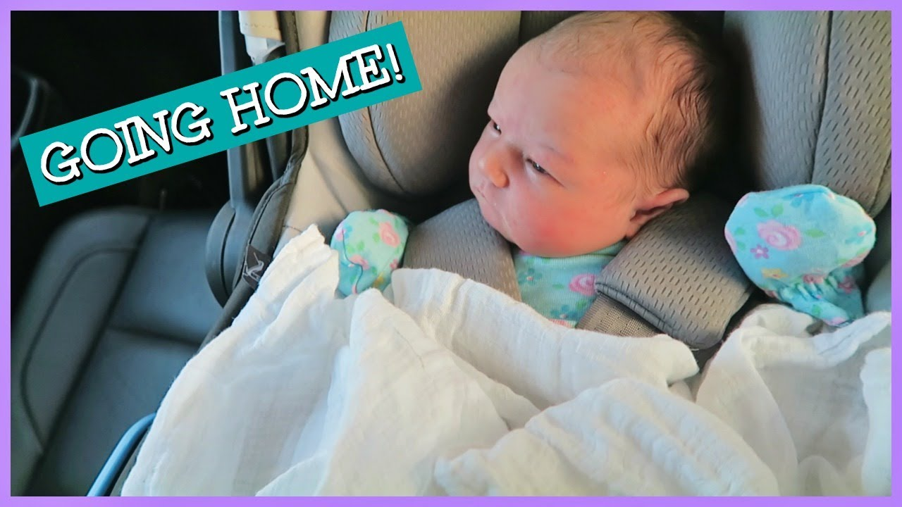 fc9e04f1718c BRINGING BABY HOME FROM THE HOSPITAL! - YouTube