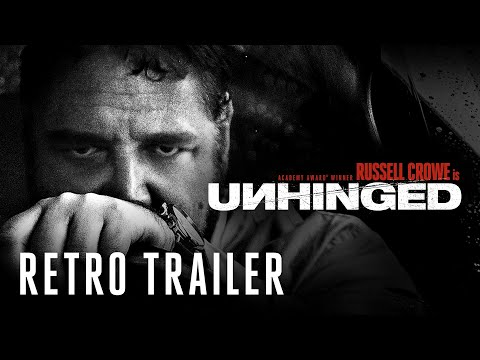 UNHINGED - BE SAFE OUT THERE RETRO TRAILER