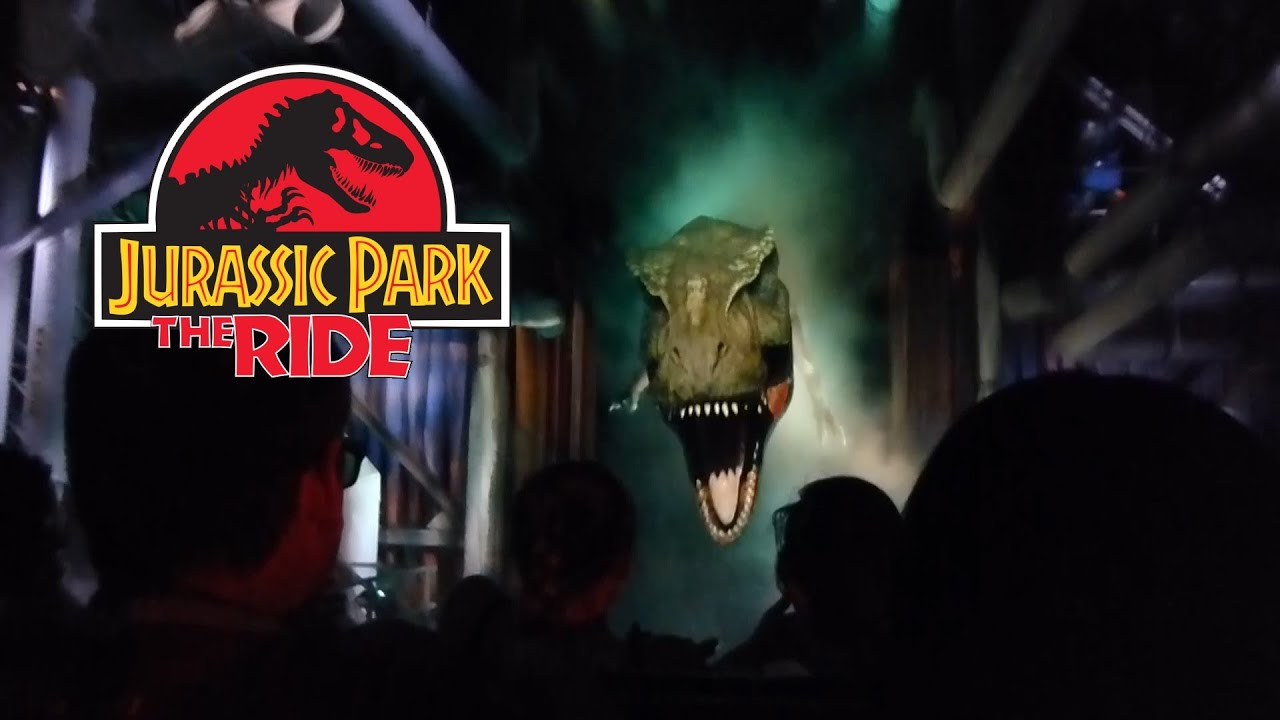 Jurassic Park Ride At Islands Of Adventure
