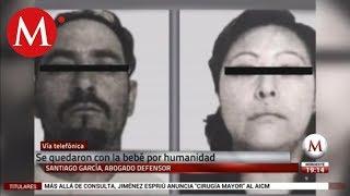 Pareja no compró bebé a feminicida de Ecatepec: abogado