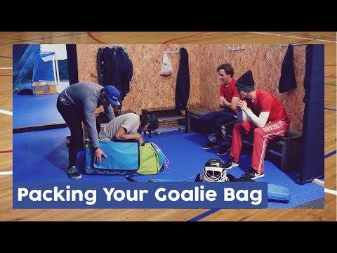 How To Pack Your Goalie Bag   HockeyheroesTV