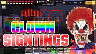 Pixel Gun 3D - Clown Sightings In Pixel Gun 3D [Scary]