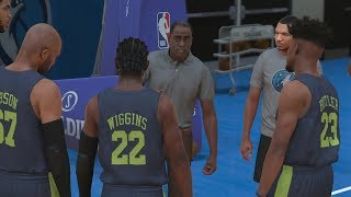 NBA 2K18 My Career Prelude - Timberwolves NBA Tryout! PS4 Pro 4K Gameplay