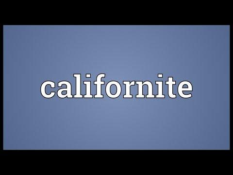 Header of californite