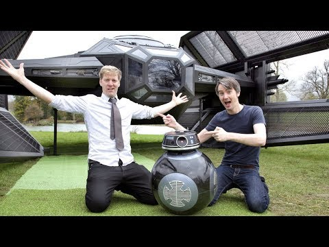 Epic Stars Wars Project with Colin Furze and eBay | James Bruton