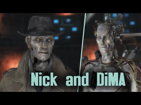 Fallout 4 - Far Harbor - Story of Nick and DiMA