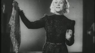 Siny Platochek. Young Klavdia Shulzhenko. Russian Love Song 1941 1945 WW2 Синий Платочек Шульженко