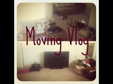 Moving Vlog  Moving Into My First Apartment
