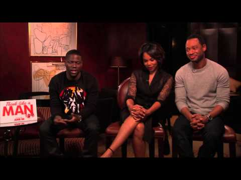 Think Like A Man Too Interview - Kevin Hart, Regina Hall, & Terrence Jenkins