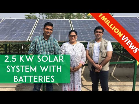 Real Life Energy Independence : 2.5 kW Solar System | Electric Scooters run on the Sun