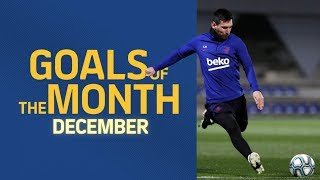 GOALS OF THE MONTH | December's training sessions