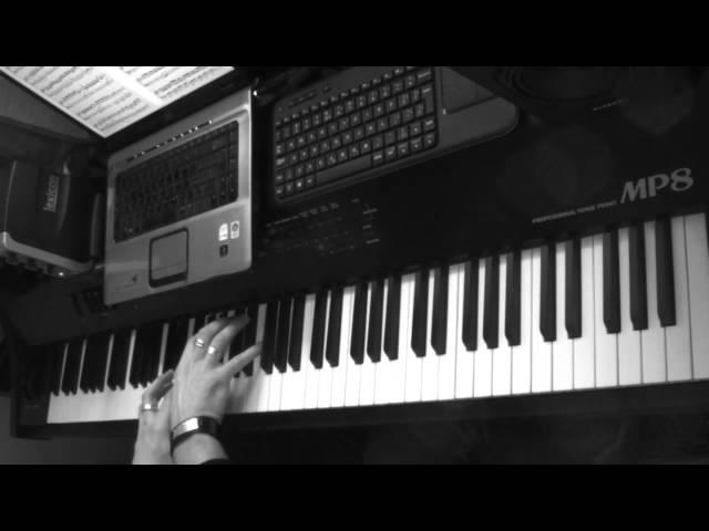 Vivaldi: Winter, 1. Allegro (The 4 Seasons) - Piano version
