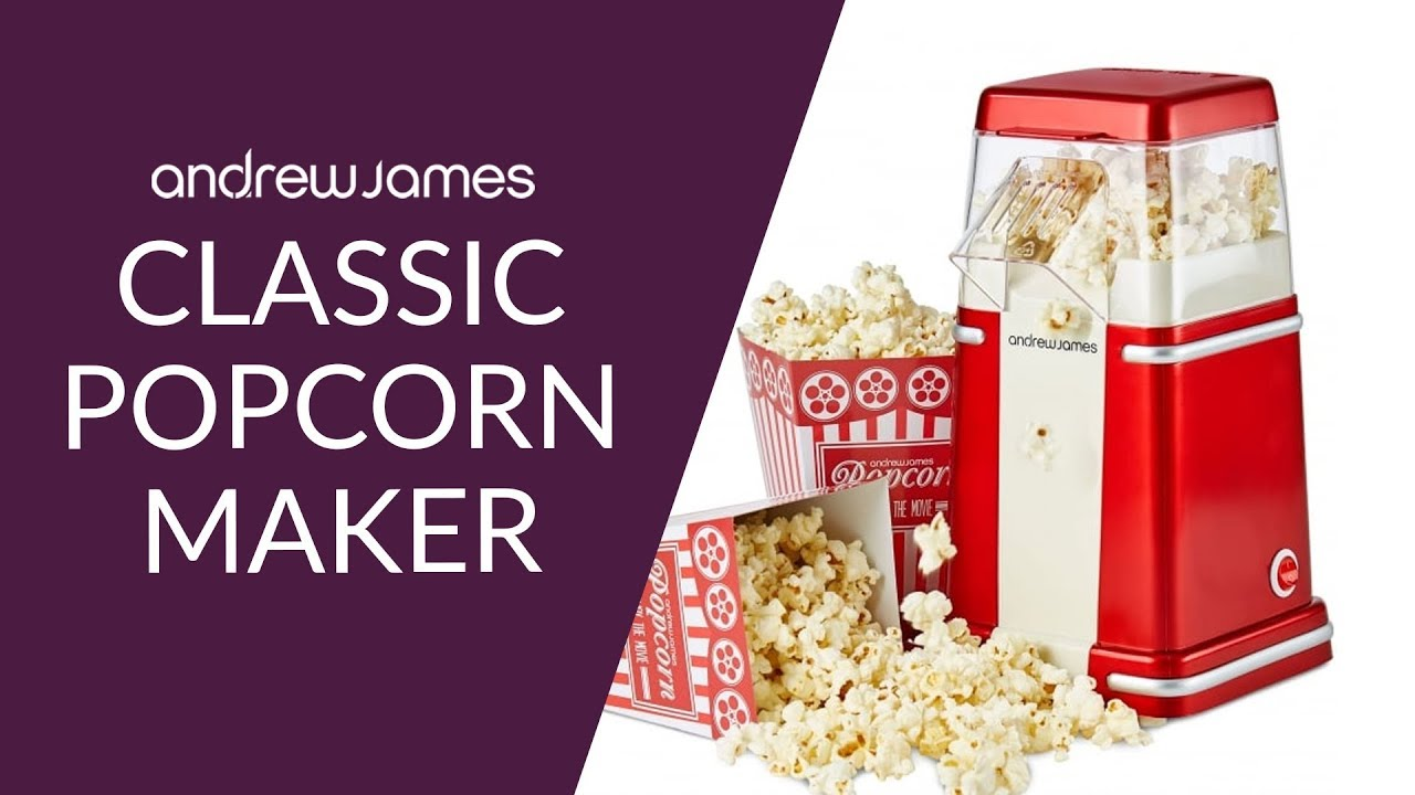 Andrew James Clic Popcorn Maker