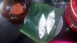 Easy fish fry//vazhayilayil pollichathu//tasty recipe 28