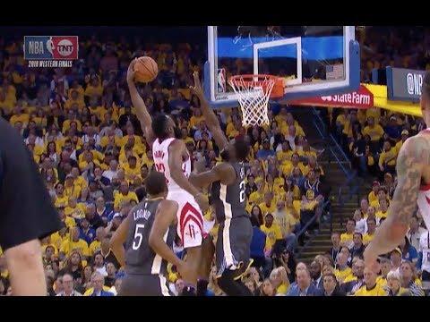 Rockets' James Harden Destroys Warriors' Draymond Green with Poster Dunk