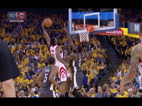 Rockets' James Harden Destroys Warriors' Draymond Green with Poster Dunk