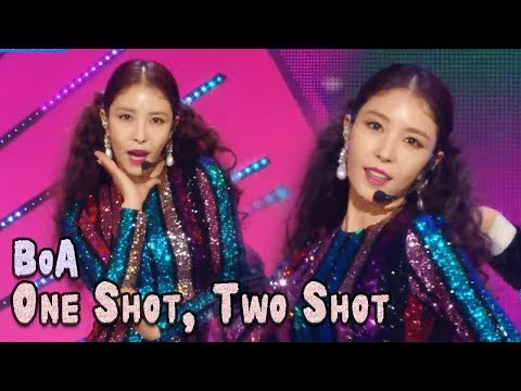 Comeback Stage BoA  ONE SHOT, TWO SHOT, 보아  원샷, 투샷  Music core 20180224