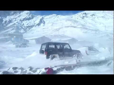 Snow storm in LEH LADAKH live