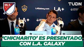 Presentación oficial del 'Chicharito' con L.A. Galaxy | TUDN