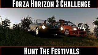 Forza Horizon 3 Challenge Hunt The Festivals