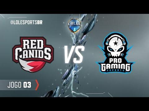 Red Corinthians x ProGaming (Jogo 3 - Fase de Pontos - 1ª Etapa) - CBLoL 2018