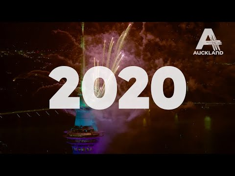 Auckland, New Zealand Welcomes In 2020