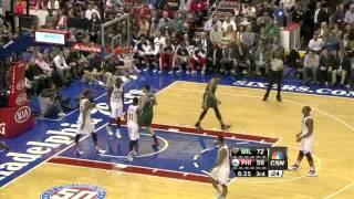 Brandon Jennings 33 points 8 assists vs Philadelphia 76ers full highlights 11/12/2012 HD