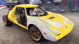 Lancia Stratos first test drive