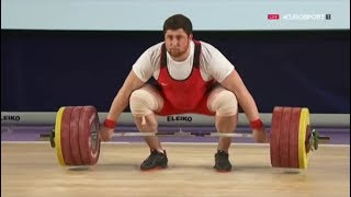 2016 Olympic Weightlifting , Men +105 kg - European Championships \ Тяжелая Атлетика(, 2016-04-16T17:05:50.000Z)