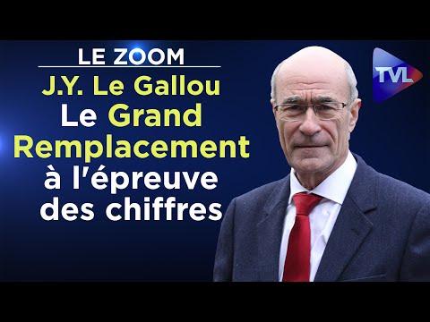 Le Grand Remplacement à l'épreuve des chiffres - Le Zoom - Jean-Yves Le Gallou - TVL