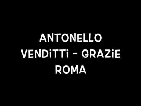 Grazie Roma   Antonello Venditti lyrics