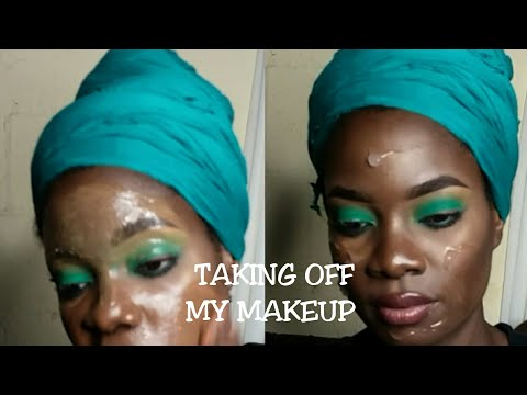 HOW TO| TAKE OFF YOUR MAKEUP BEFORE BED| UPDATED SKINCARE ROUTINE USING KIKI BEAUTY PRODUCTS.