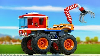 Experemental Cars . Assembly Toys for Kids . Vehicles for Children