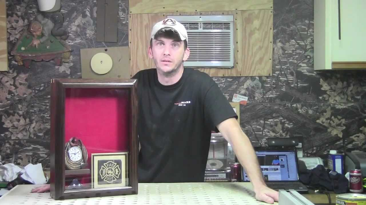 Making A Special Shadow Box - YouTube
