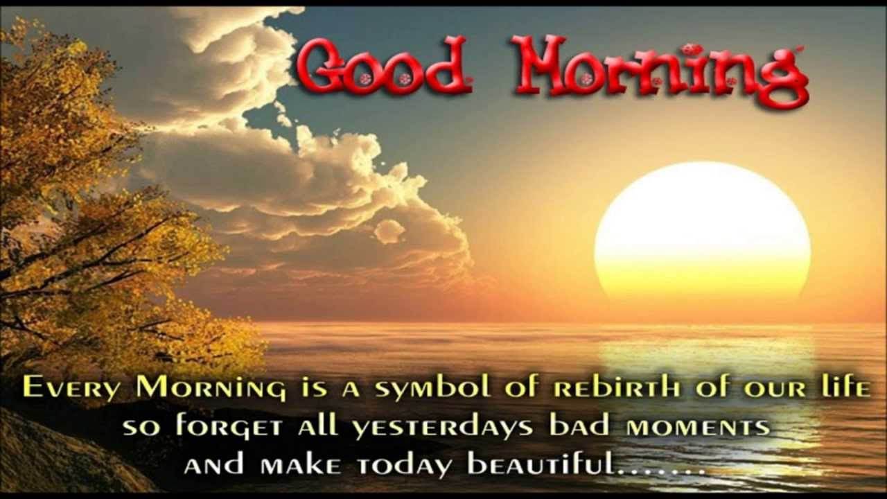 Good Morning Quotes For Facebook Good Morning Video  Inspirational Good Morning Video Message