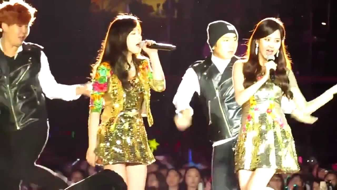 taetiseo snsd twinkle smtown beijing 2013 youtube