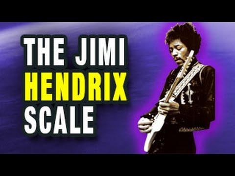 The Jimi Hendrix Scale