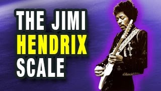 the jimi hendrix scale