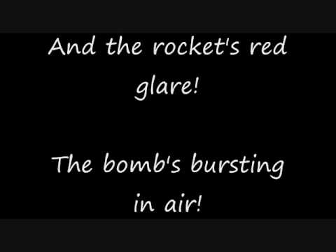 Star Spangled Banner karaoke instrumental