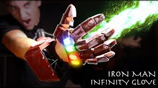 DIY Working Iron Man INFINITY GAUNTLET