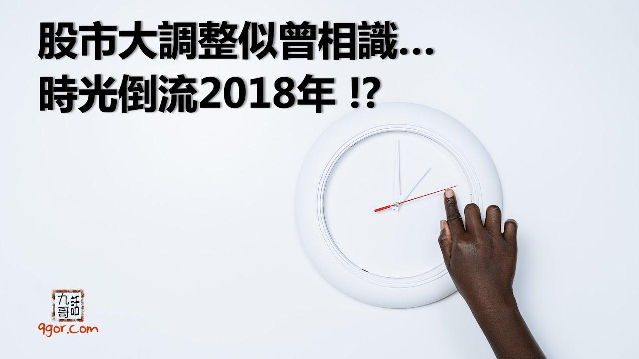 210311 九哥晚報 股市大調整似曾相識,時光倒流2018年?!