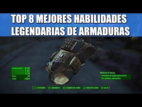 FALLOUT 4 | TOP 8 MEJORES HABILIDADES LEGENDARIAS PARA ARMADURA thumbnail