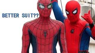Captain America Civil War Behind the Scenes Spider-Man ORIGINAL suit design (Beta)
